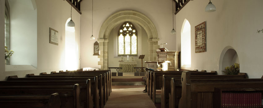St Marys Church Billingsley Interior