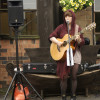 Local Musician Emily Bond entertained the crowds with her amazing acoustic set!!