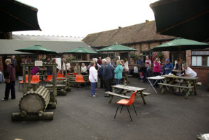 Packed crowds enjoyed the annual Billingsley BBQ and Fete at Rays Farm