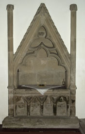 14th Century Easter Sepulchre