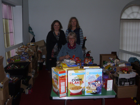 St Marys Billingsley Harvest Appeal Bridgnorth Food Bank