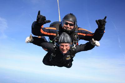 Amanda Prescott Skydive 1