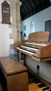 New Church Organ at St MArys Church Billingsley