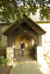 St Marys Church Billingsley Norman Doorway