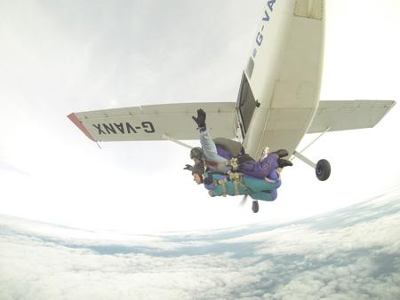 Zoe Skydive 2