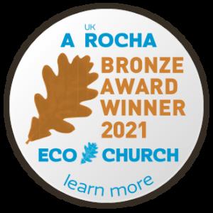 St Mary's gains a Bronze Eco Church Award