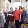 Cheese And Wine Evening Proceeds Presented to Headcase